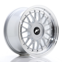 JR Wheels JR23 16x8 ET20-45 BLANK Hyper Silver w/Machined Lip