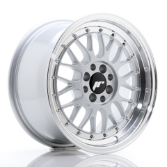 JR Wheels JR23 16x8 ET20 4x100/108 Hyper Silver w/Machined Lip