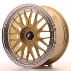 Japan Racing JR23 18x8 ET30-45 Blank Gold