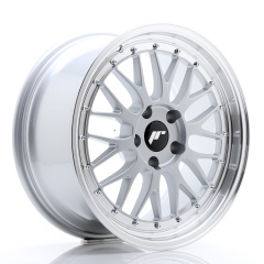 JR Wheels JR23 18x8,5 ET25 5x120 Hyper Silver w/Machined Lip