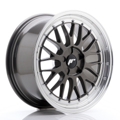 JR Wheels JR23 18x8,5 ET25-48 5H BLANK Hyper Gray w/Machined Lip