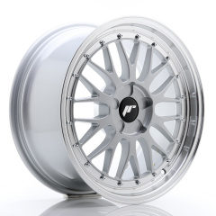 JR Wheels JR23 18x8,5 ET25-48 5H BLANK Hyper Silver w/Machined Lip