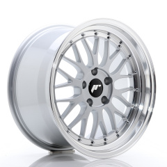 JR Wheels JR23 18x9,5 ET25 5x120 Hyper Silver w/Machined Lip