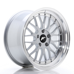 JR Wheels JR23 18x9,5 ET35 5x120 Hyper Silver w/Machined Lip