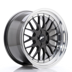 JR Wheels JR23 18x9,5 ET25-48 5H BLANK Hyper Gray w/Machined Lip