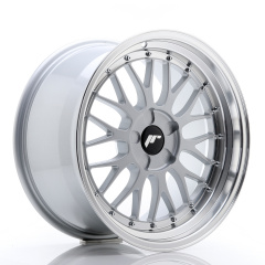 JR Wheels JR23 18x9,5 ET25-48 5H BLANK Hyper Silver w/Machined Lip
