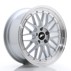 JR Wheels JR23 19x8,5 ET35 5x120 Hyper Silver w/Machined Lip