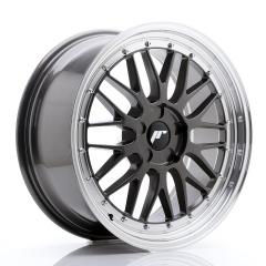 JR Wheels JR23 19x8,5 ET20-50 5H BLANK Hyper Gray w/Machined Lip