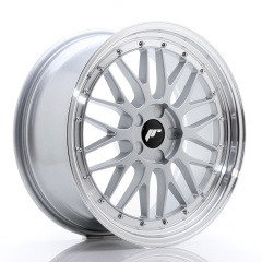 JR Wheels JR23 19x8,5 ET20-50 5H BLANK Hyper Silver w/Machined Lip