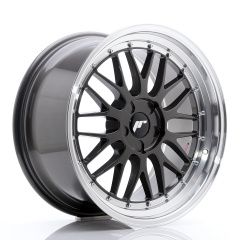 JR Wheels JR23 19x9,5 ET20-48 5H BLANK Hyper Gray w/Machined Lip