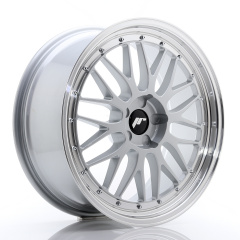 JR Wheels JR23 20x8,5 ET20-45 5H BLANK Hyper Silver w/Machined Lip