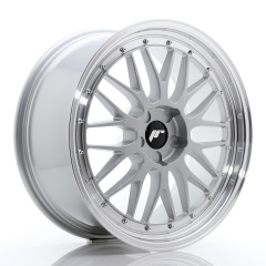 JR Wheels JR23 20x9 ET20-50 5H BLANK Hyper Silver w/Machined Lip