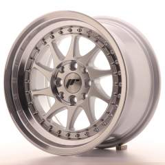 Japan Racing JR26 15x8 ET25 4x100/108 Machined Sil