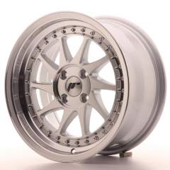 Japan Racing JR26 16x8 ET30 4x100 Mach Silver