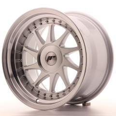Japan Racing JR26 16x9 ET25 Blank Mach Silver