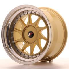 Japan Racing JR26 17x10 ET20-25 Blank Gold