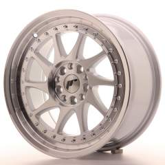 Japan Racing JR26 17x8 ET25 5x114/120 Machined Sil