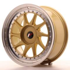 Japan Racing JR26 17x8 ET35 Blank Gold