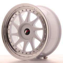 Japan Racing JR26 17x8 ET35 Blank White