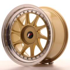 Japan Racing JR26 17x9 ET20-35 Blank Gold