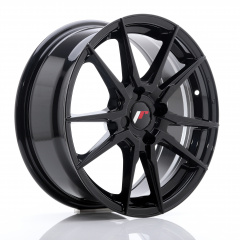 Japan Racing JR28 17x7 ET40 4x100 Hyper Black