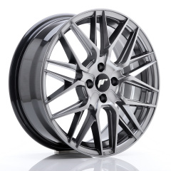 Japan Racing JR28 17x7 ET40 4x100 Silver Machined