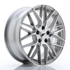 Japan Racing JR28 17x7 ET40 5x114,3 Silver Machine<br/>