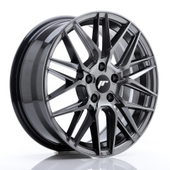Japan Racing JR28 17x7 ET35 5x100 Hyper Black<br/>