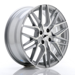 Japan Racing JR28 17x7 ET40 5x112 Silver Machined<br/><br/><br/>