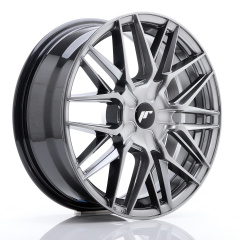 Japan Racing JR28 17x7 ET20-45 BLANK Hyper Black<br/><br/>