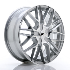 Japan Racing JR28 17x7 ET20-45 BLANK Silver Machin<br/><br/><br/>