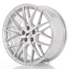 Japan Racing JR28 17x8 ET35 5x100 Silver Machined