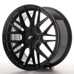 Japan Racing JR28 17x8 ET25-40 BLANK Glossy Black