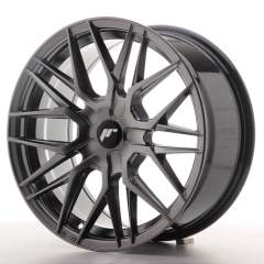 Japan Racing JR28 17x8 ET25-40 BLANK Hyper Black