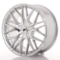 Japan Racing JR28 17x8 ET25-40 BLANK Silver Machin