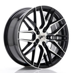 JR Wheels JR28 18x7,5 ET40 5x112 Gloss Black Machined Face