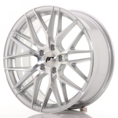 Japan Racing JR28 18x7,5 ET40 5x112 Silver Machine