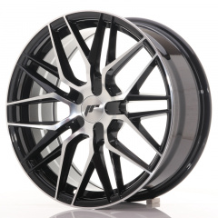Japan Racing JR28 18x7,5 ET20-40 Blank Black Ma