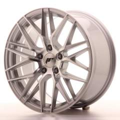 Japan Racing JR28 18x8,5 ET40 5x120 Silver Machine