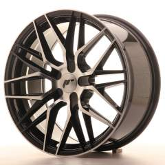 Japan Racing JR28 18x8,5 ET20-40 5H Blank Black Ma