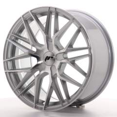 Japan Racing JR28 18x8,5 ET20-40 5H Blank Silver M
