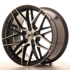 Japan Racing JR28 18x9,5 ET20-40 5H Blank Black Ma