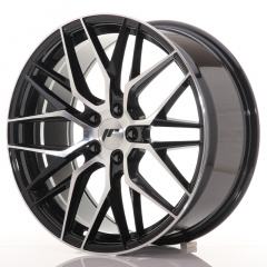 JR Wheels JR28 19x8,5 ET40 5x114,3 Gloss Black Machined Face