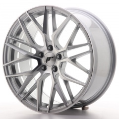 JR Wheels JR28 19x8,5 ET40 5x114,3 Silver Machined Face
