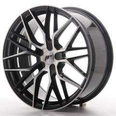 Japan Racing JR28 19x8,5 ET20-40 5H Blank Black Ma