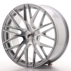 Japan Racing JR28 19x8,5 ET20-40 5H Blank Silver M