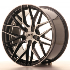 Japan Racing JR28 19x9,5 ET35-40 5H Blank Black Ma