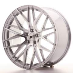 Japan Racing JR28 20x10 ET30 5x120 Silver Machined