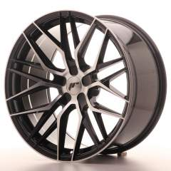 Japan Racing JR28 20x10 ET20-40 5H Blank Black Mac