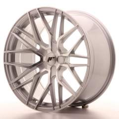 Japan Racing JR28 20x10 ET20-40 5H Blank Silver Ma